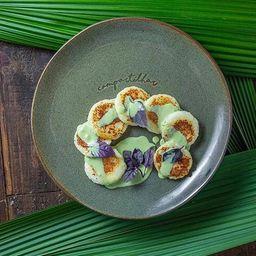 Ravióli de Tapioca com Queijo