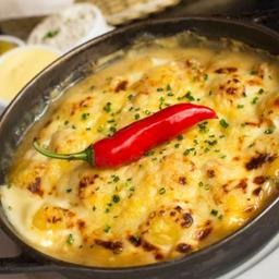 Gnocchi de Brie à La Creme Au Brie Et Apricot à Lucas Lima