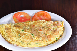 Omelete temperado