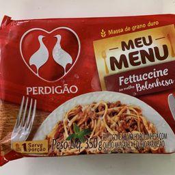 Macarrão Perdigão Fettuccine ao Molho Bolonhesa 350g