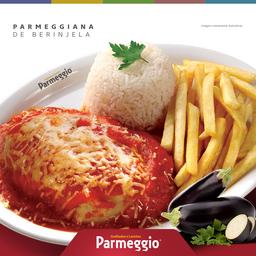 Parmegiana de Berinjela com Cream Cheese