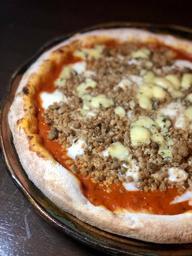 Pizza Salsiccia e Gorgonzola