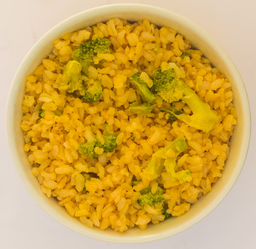 Arroz Integral com Brócolis Porção