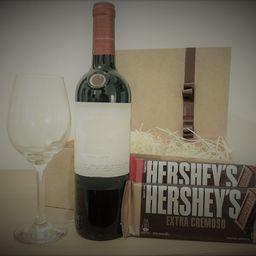 Box Chocovinho Vinho e Hersheys