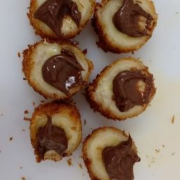 Banana com Nutella