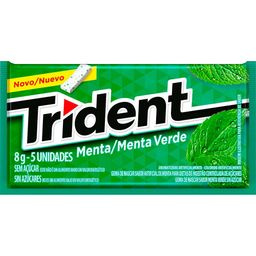Trident Menta Verde - 8g