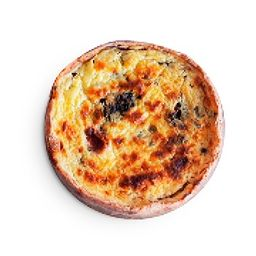 Quiche Integral de Tomate e Pesto