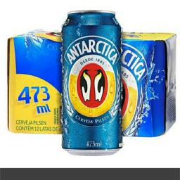 Cerveja Latão Antarctica 473ml Und.