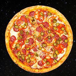Pizza Portuguesa Das Galáxias - Grande
