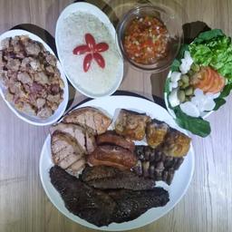 Rodizio de carnes com fraldinha p/2 pessoas
