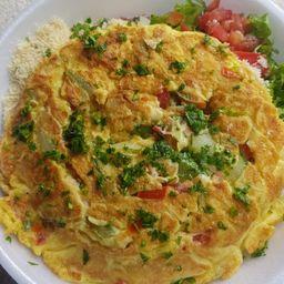 Omelete Completo - Serve 2 Pessoas