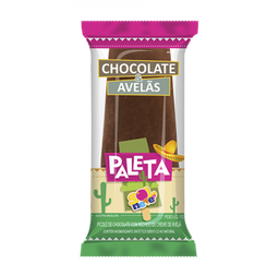 Paleta Gourm Chocolate e Avelã