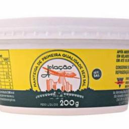 Manteiga Aviação sem Sal - 200g