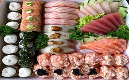 Combinado Black Sushi 3 Pessoas - 56 Unidades