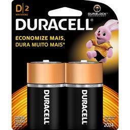 Pillha Duracell D2