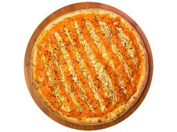 Pizza Frango com Cheddar e Alho Frito - Grande