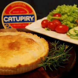 Torta de frango com catupiry - para 02 pessoas