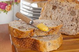 Pão de Linhaça e Castanha do Pará - Inteiro