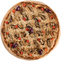 Pizza Oriental - Vegan