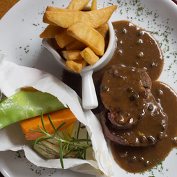 Steak au Poivre e Straffe Hendrik Tripel