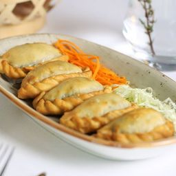 Esfirra Arish (queijo Árabe) - Vegetariana