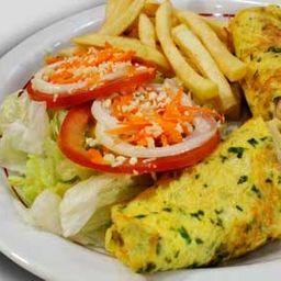 Omelete Especial Opção 4