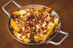 Batatas Rústicas com Cheddar e Bacon