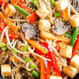 46-T/L. Tofu com Legumes Variados