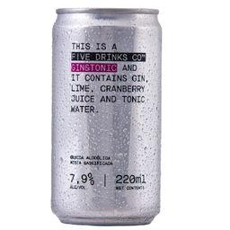 Gin & Tonic F!ve Drinks Co 220ml