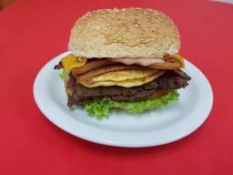 08 - Filex com Bacon e Omelete