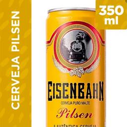 Eisenbahn cerveja lata 350ml