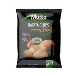 Batata Chips Maitá Creme de Cebola - 45g