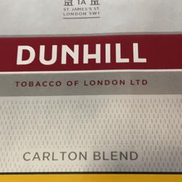 DUNHILL CARLTON BLEND BOX
