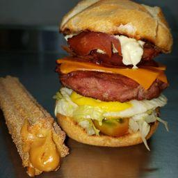 Combo Burger e Churros