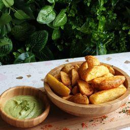 Batatas Rústicas (vegana)