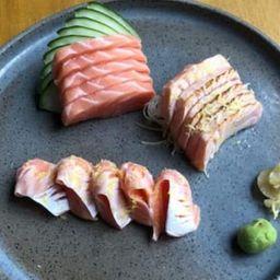Sashimi misto de 15 peças