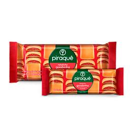 Biscoito Piraquê Roladinho Goiaba 80 g