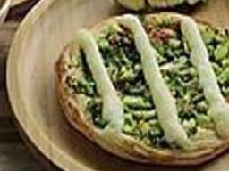 Esfiha de Brócolis com Catupiry Cremoso