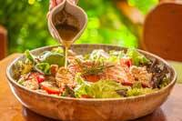 Caesar Salad Filé de Salmão