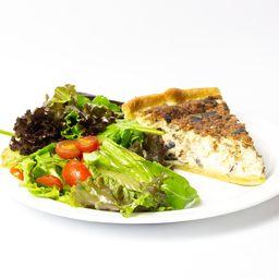 Quiche de Legumes Vegetariana