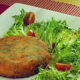 Hamburguer Vegano + Salada Lisboa