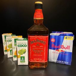 Combo de Jack Daniels Fire 1l