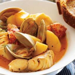 Bouillabaisse de Peixe e Frutos do Mar