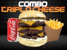 Combo Triplo Cheeseburger