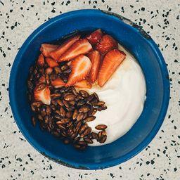Fruta do Dia com Iogurte