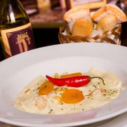 Ravioli de Brie Et Abricot à Thaila Ayala