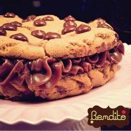 Sanduíche de Cookie com Doce de Leite