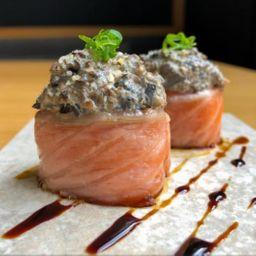 Joe salmão shimeji