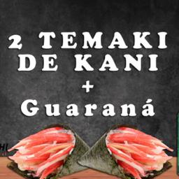 2 Temaki de Kani + Guaraná