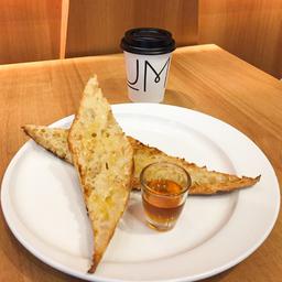 Pão na Chapa e Cafe Coado